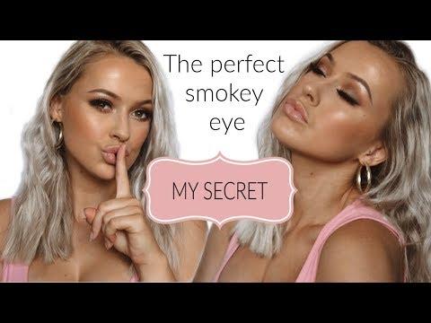 The perfect smokey eye makeup tutorial  Karla Christine