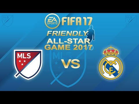 FIFA 17 MLS All Star vs Real Madrid | Major League Soccer All-Star Game | PS4 Full Match