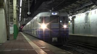 2017/2/5 新潟駅3番ホームにて 168M 115系N34編成+N29編成 前照灯点灯~...