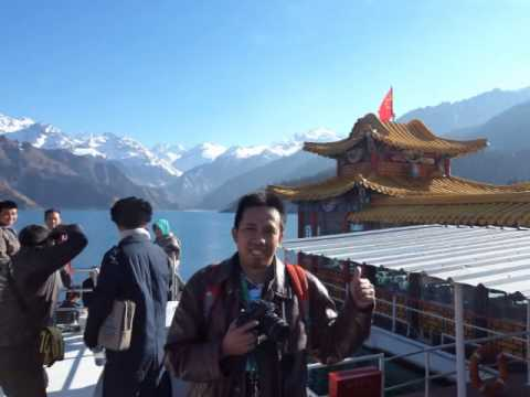 Tour Wisata Danau Heaven Lake Taichi Urumqi China