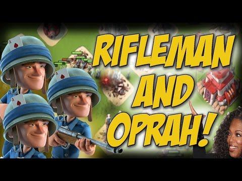 Rifleman Takeover! | Oprah Medkits? | Boom Beach