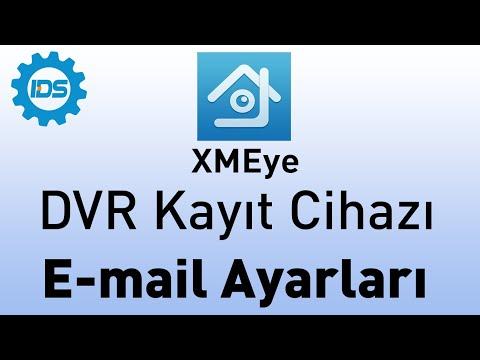 DVR Kayıt Cihazı - Email Ayarı nasıl yapılır? - XMEYE