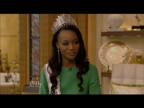 2016 Miss USA Winner Deshauna Barber Interview on Live with Kelly | 6-7-16