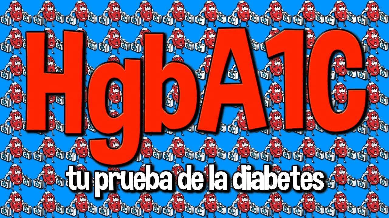 Es la glicohemoglobina que