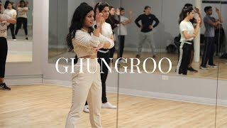 GHUNGROO | Hrithik Roshan | War | CHICAGO Drop-In Class | Chi-Naach by SQB