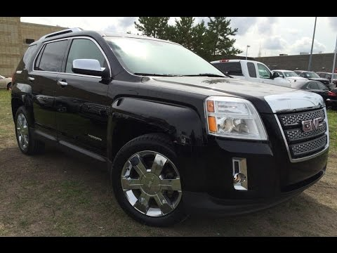 Pre Owned Black  Gmc Terrain Awd Slt  In Depth Review Airdrie Alberta