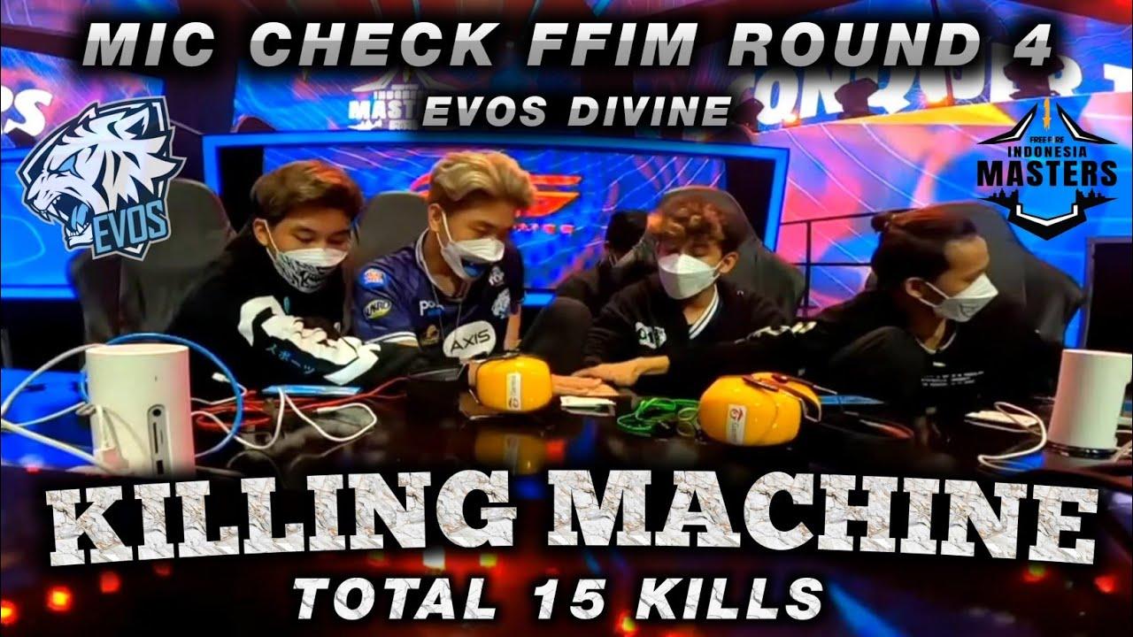 Download MIC CHECK EVOS DIVINE 15 KILL ROUND 4   GRAND FINAL FFIM FALL 2021