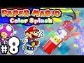 Paper Mario Color Splash - Wii U Gameplay Walkthrough PART 8 - Final Chosen Toad & Fire Extinguisher