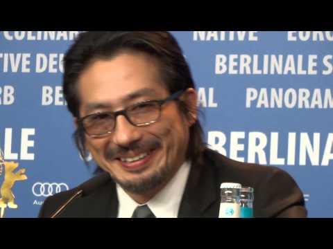Mr. Holmes stars Hiroyuki Sanada & Laura Linney at Berlinale 2015