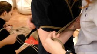 Шибари на практике - игры с властью (Shibari)