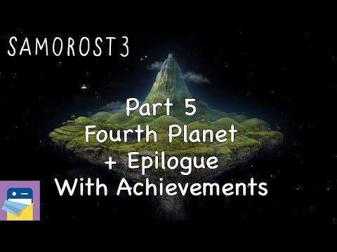 Samorost 3: iOS Walkthrough Guide Part 5 Fourth Planet + Epilogue + Achievements (Amanita Design)