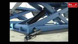 Автомобильный ножничный подъемник AE&T F6010(, 2016-05-11T11:39:43.000Z)