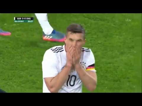 Germany vs England 1-0 Lukas Podolski
