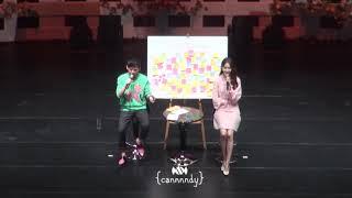181111 윤아 YOONA FAN MEETING So Wonderful Day in Taipei Q A