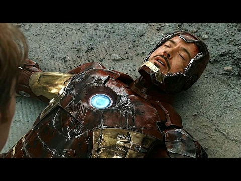 The Avengers - Final Battle Scene - Iron Man Saves The World