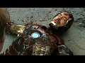 The Avengers Final Battle Scene Iron Man Saves The World ...