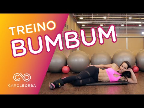 Treino BUMBUM - 10 Minutos - Carol Borba