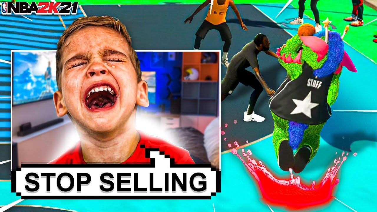 i TROLLED a 9 Year Old SUPERFAN with the UGLIEST JUMPSHOT on NBA 2K21... *HE CRIED*