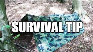Enhanced survival shelter for cold weather -- Survival/Bug out tips #3