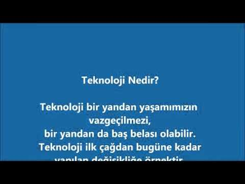Teknolojinin Yararları Ve Zararları Youtube