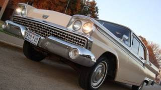 1959 Ford Fairlane Galaxie 500 Texas Cruisin