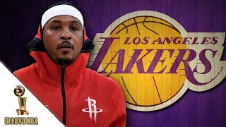 LeBron James Wants Carmelo Anthony To Join Los Angeles Lakers!!! | NBA News