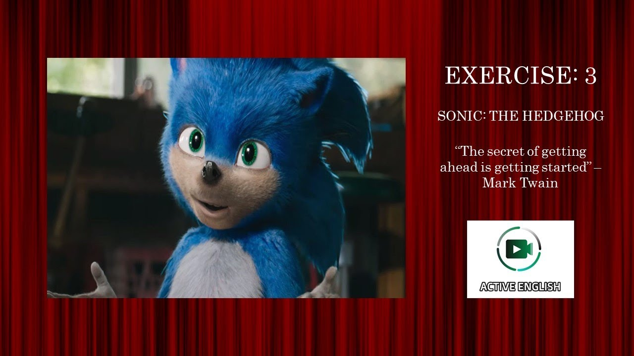 Interactive Video To Learn Practice English Exercise 3 Sonic The Hedgehog Youtube