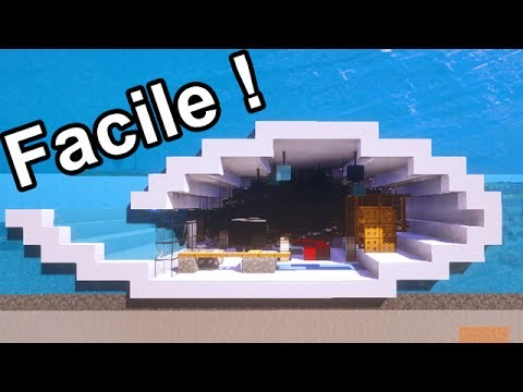 maison sous l 39 eau facile a faire sur minecraft tuto youtube. Black Bedroom Furniture Sets. Home Design Ideas