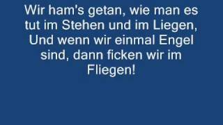 Böhse Onkelz - Wenn wir einmal Engel sind (lyrics)