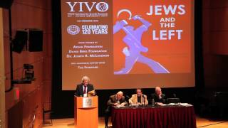 Yoav Peled at YIVO Jews and the Left (CLIP)