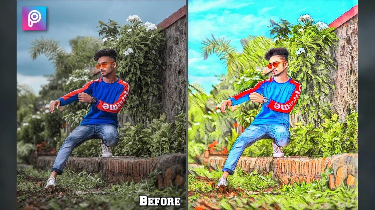 PicsArt Cartoon Photo editing Effect - Xyaa Edits🔥