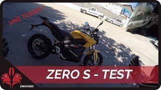 JE TEST UNE MOTO ELECTRIQUE ! // Zero S : excellent !