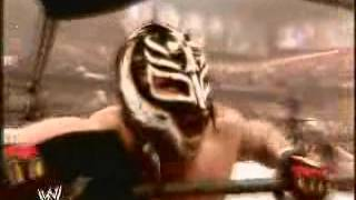 Awesome music playing as Rey Mysterio wins World Heavyweight Championship