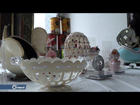 معرض للأشغال اليدوية بمدينة أورفا التركية لتمكين المرأة السورية  - سوريا  - 09:53-2019 / 2 / 18