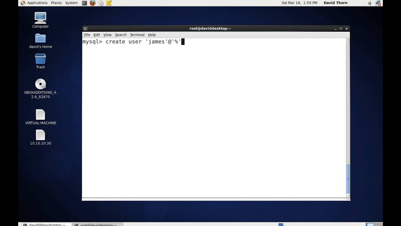 MySQL – Remote Access to MySQL Server on Linux CentOS 6.3 Part 2