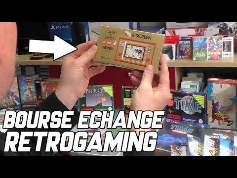Bourse d'échanges Retrogaming - Reportage - videogame