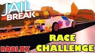 🏎️🏁 JAILBREAK RACE CHALLENGE!!! 🏁🏎️ | Welcher Roblox YouTuber ist der Schnellste? Wer nimmt Ls?