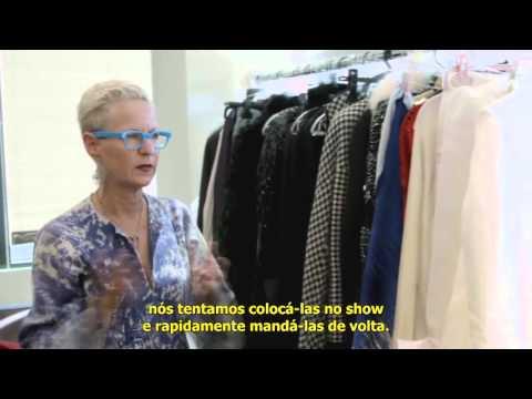 "Bastidores de ""American Horror Story: Hotel"" mostrando as roupas da Condessa"