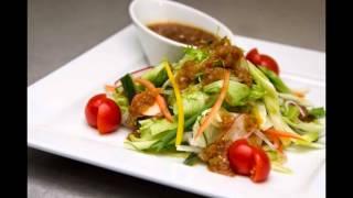 Овощной салат с японской заправкой