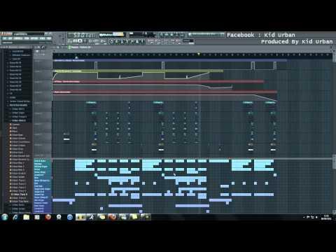 FL Studio 10 - Eminem Style Organ Rap Instrumental 720p [HD]