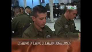 Escuela de Formación de Carabineros de Chile 1ª Parte