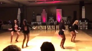 Salsamania Lady Mambo at the SF Salsa Festival 2016