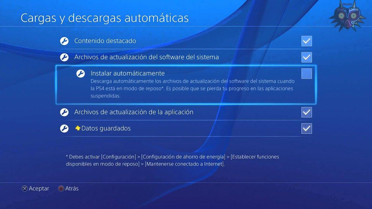 Actualización PS4 2.5 \