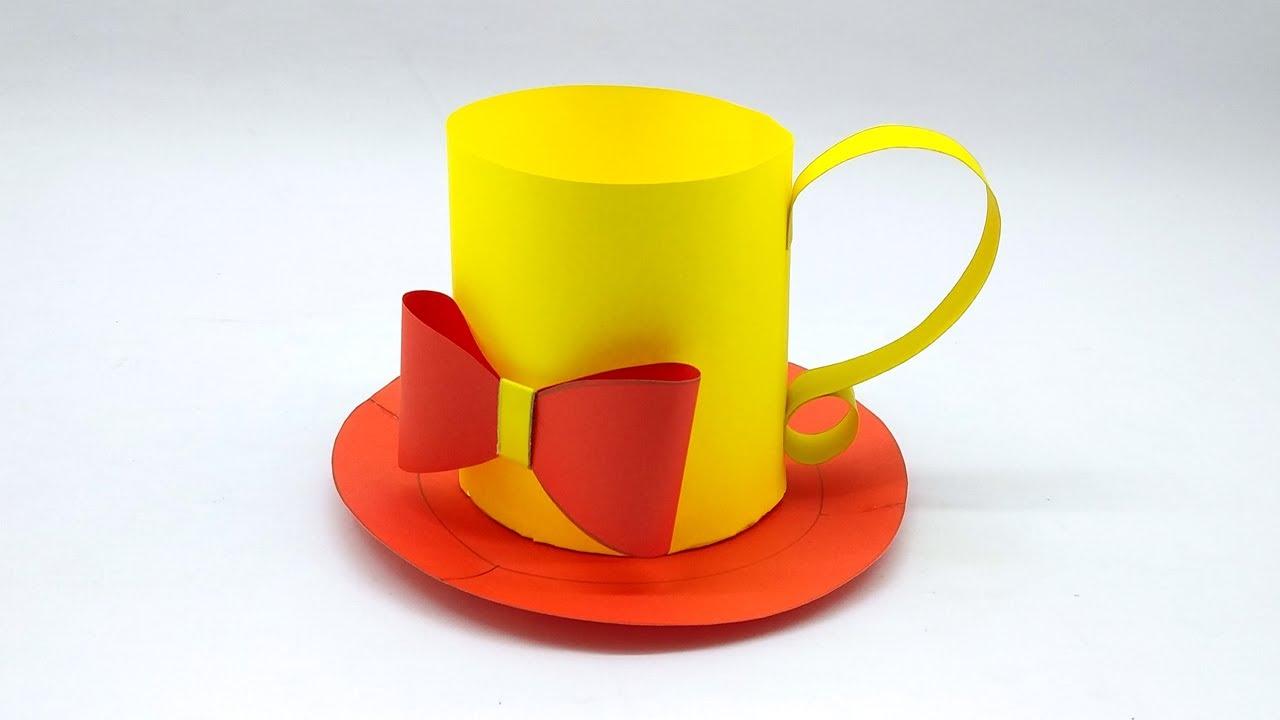 origami tea cup with handle instructions   askervani.com ...   720x1280