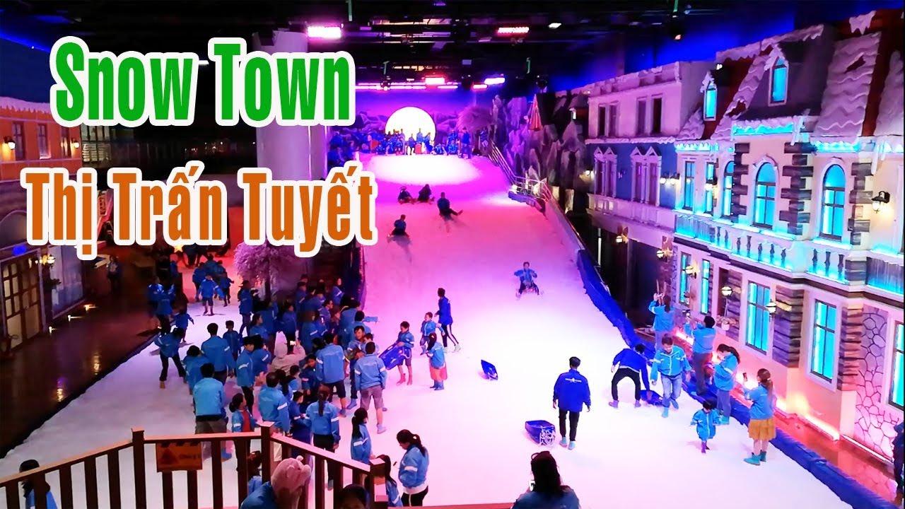 Thị trấn tuyết SnowTown Saigon Quận 2 TPHCM