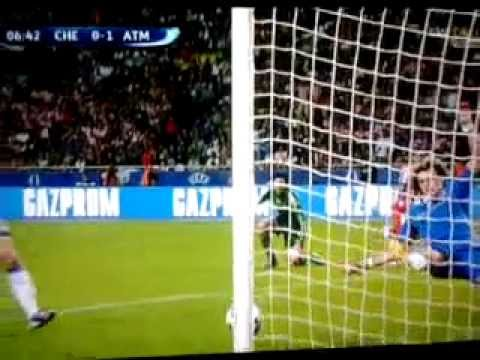 Chelsea-Atletico Madrid 1-4 UEFA Supercup-1st Goal