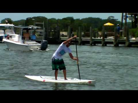 Paddle boarding shem creek sc