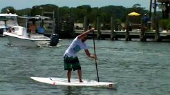 Paddle boarding shem creek sc