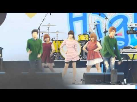 [FANCAM] 110421 IU - Good Day (좋은날)@Samsung Galaxy Nano City Concert