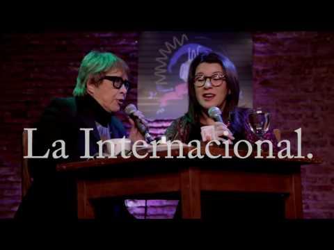 Café Los Chisperos empezó un ciclo de agenda popular de Entrevista Cynthia Garcia a Teresa Parodi